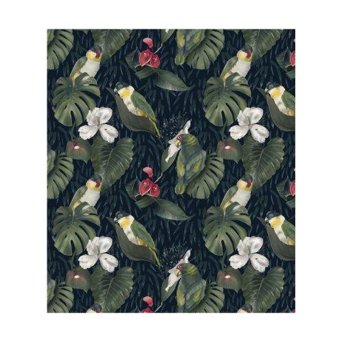 Design for Jungle green parrots
