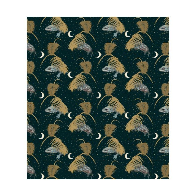 Blue lizards, night Women's Cut & Sew by KreativkDesigns Artist shop