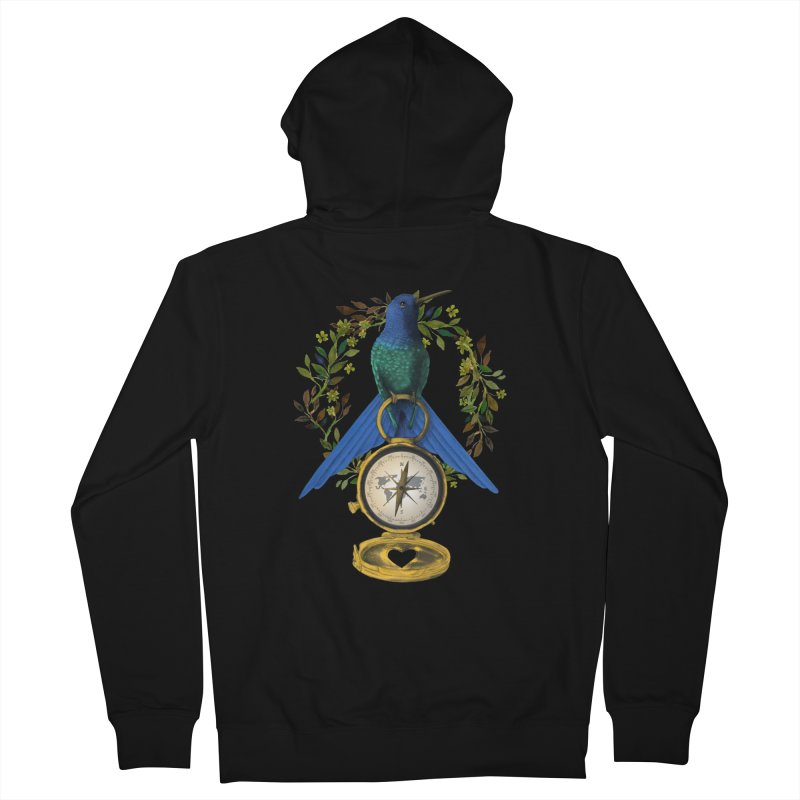 Home is where your heart is Women's Zip-Up Hoody by Kris Efe's Artist Shop