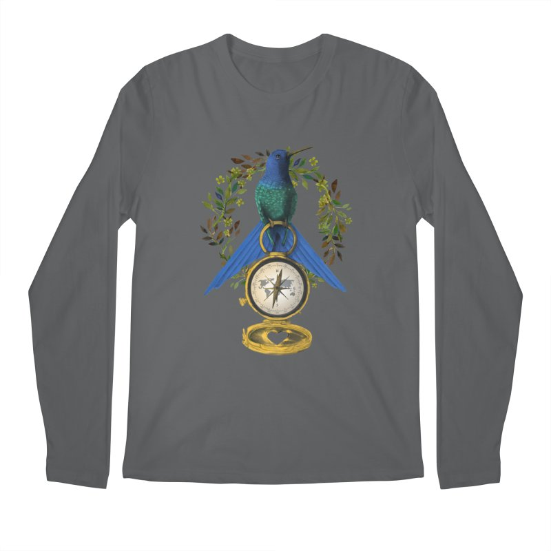 Home is where your heart is Men's Longsleeve T-Shirt by Kris Efe's Artist Shop