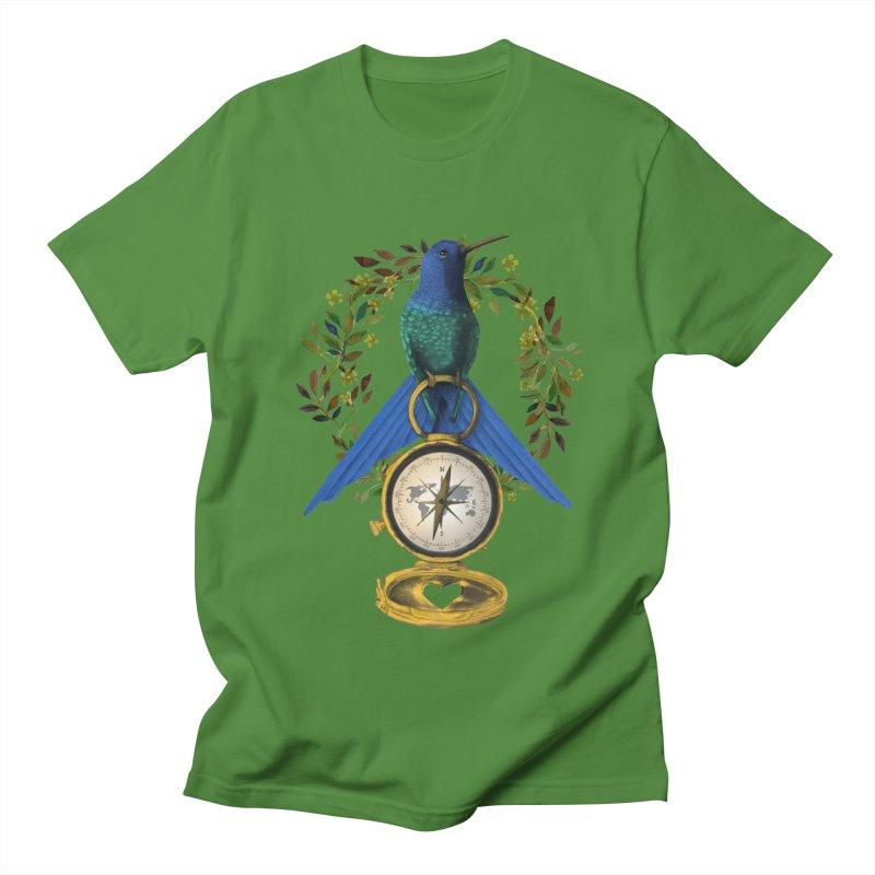 Home is where your heart is Women's Regular Unisex T-Shirt by Kris Efe's Artist Shop