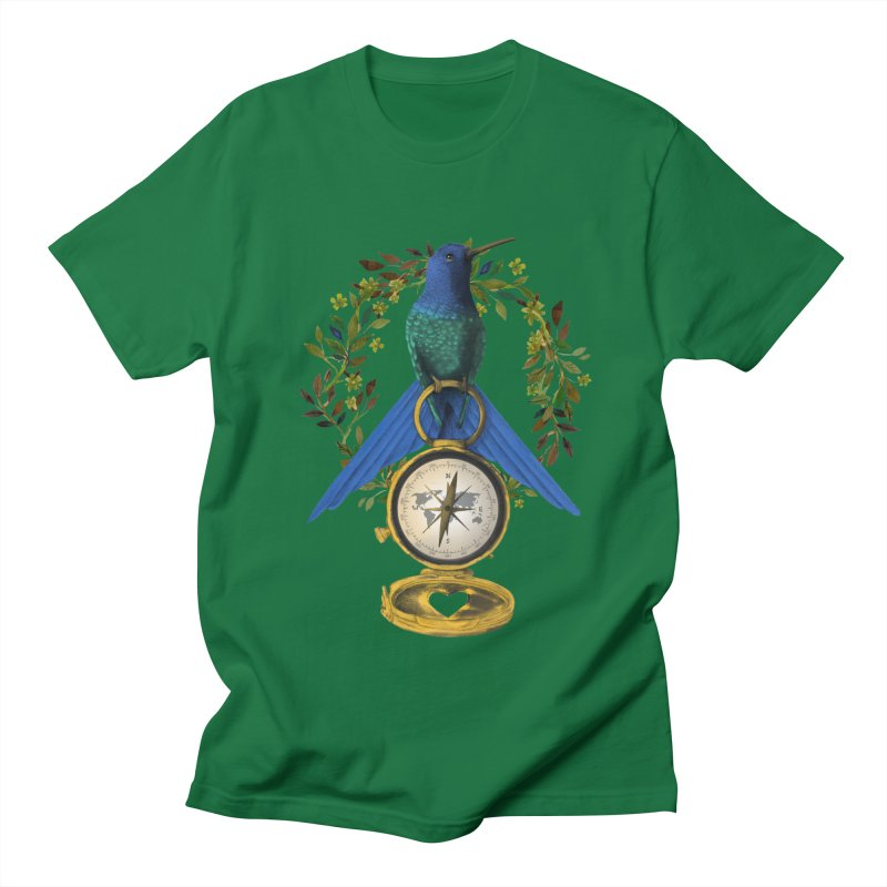 Home is where your heart is Women's Unisex T-Shirt by Kris Efe's Artist Shop