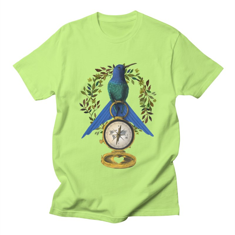 Home is where your heart is Men's T-Shirt by Kris Efe's Artist Shop