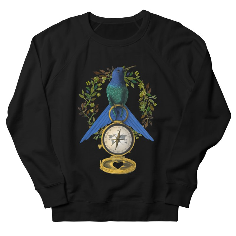 Home is where your heart is Women's French Terry Sweatshirt by Kris Efe's Artist Shop