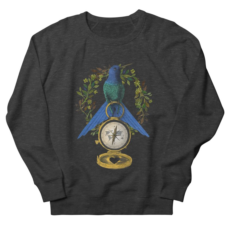 Home is where your heart is Men's Sweatshirt by Kris Efe's Artist Shop