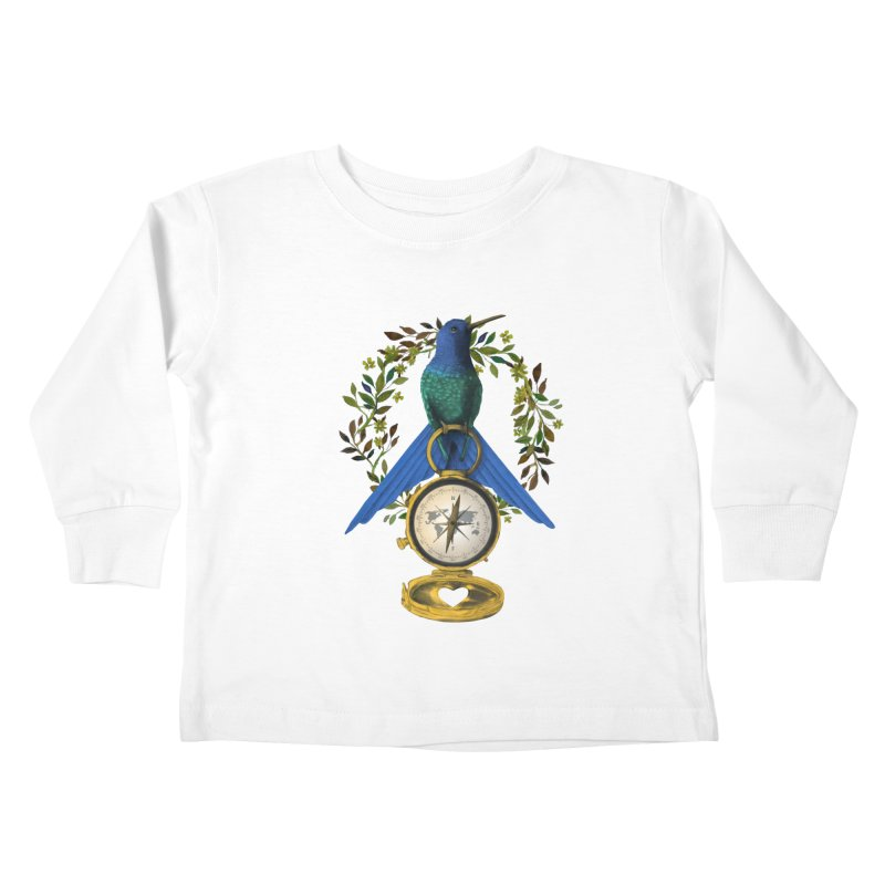 Home is where your heart is Kids Toddler Longsleeve T-Shirt by Kris Efe's Artist Shop