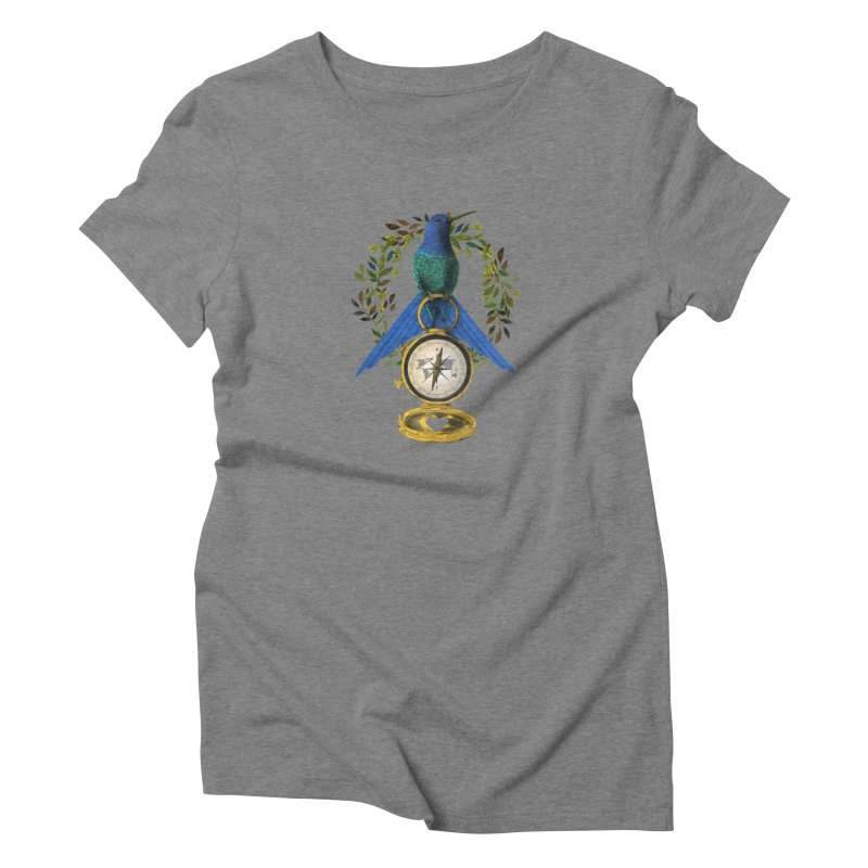 Home is where your heart is Women's T-Shirt by Kris Efe's Artist Shop