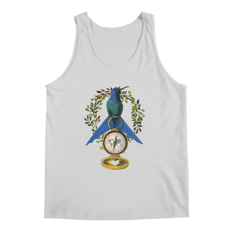 Home is where your heart is Men's Regular Tank by Kris Efe's Artist Shop
