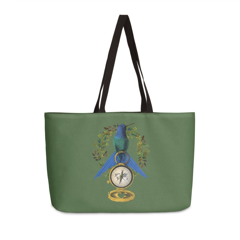 Home is where your heart is Accessories Weekender Bag Bag by Kris Efe's Artist Shop