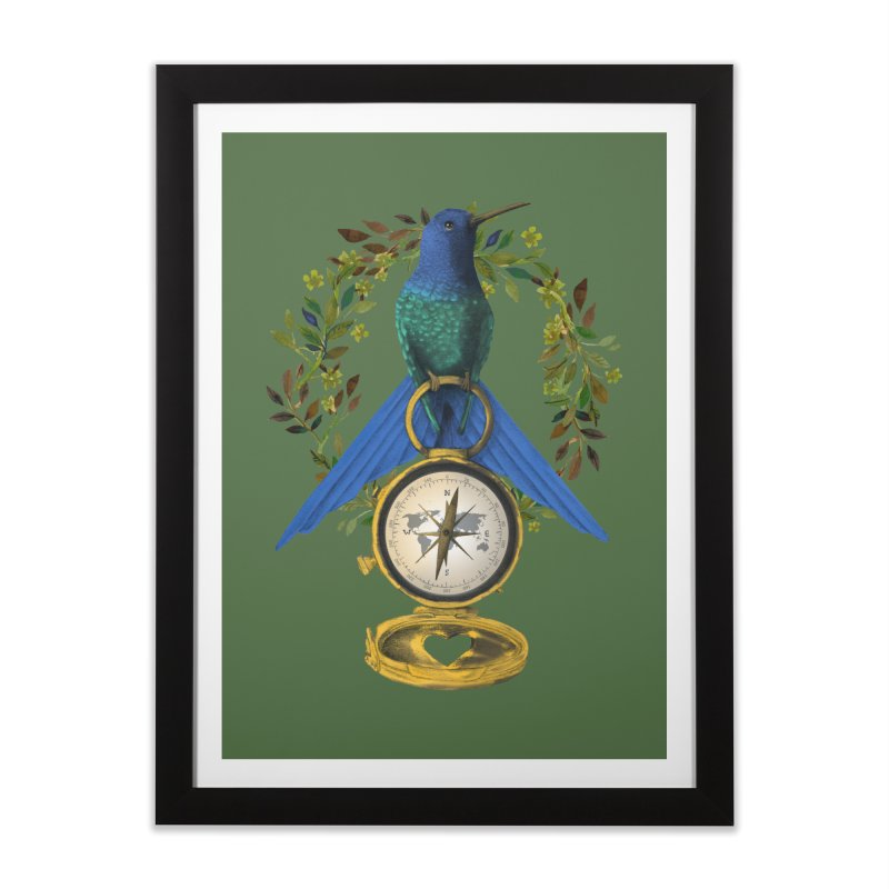Home is where your heart is Home Framed Fine Art Print by Kris Efe's Artist Shop