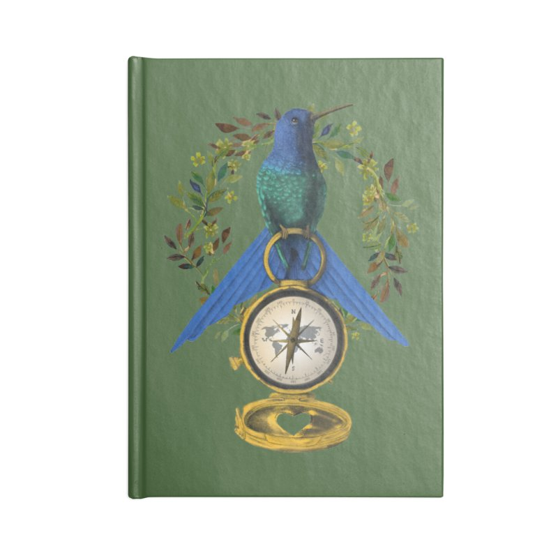 Home is where your heart is Accessories Blank Journal Notebook by Kris Efe's Artist Shop