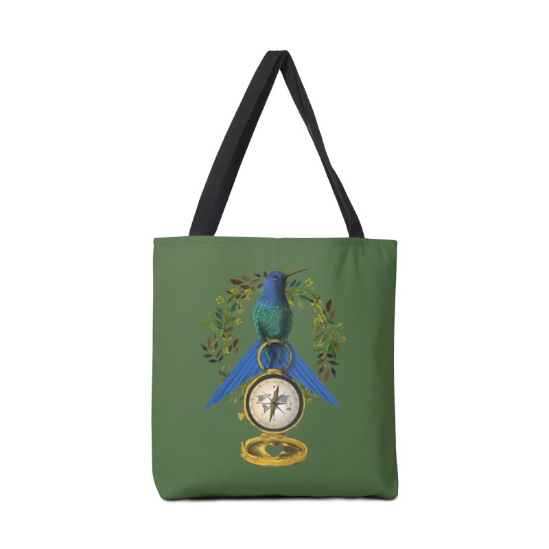 Home is where your heart is Accessories Bag by Kris Efe's Artist Shop
