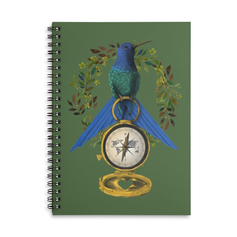 Home is where your heart is Accessories Notebook by Kris Efe's Artist Shop