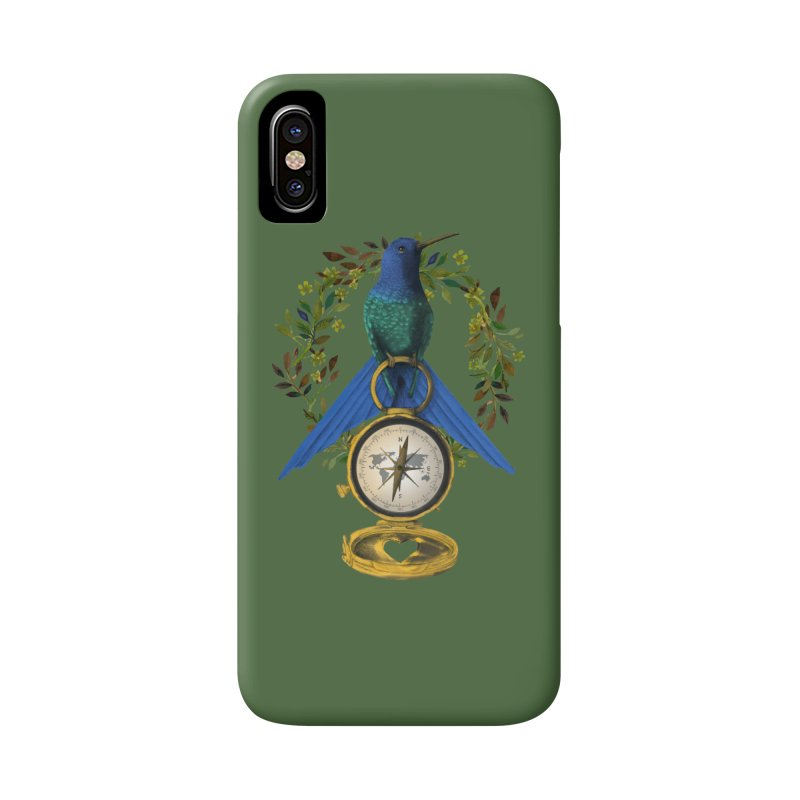 Home is where your heart is Accessories Phone Case by Kris Efe's Artist Shop