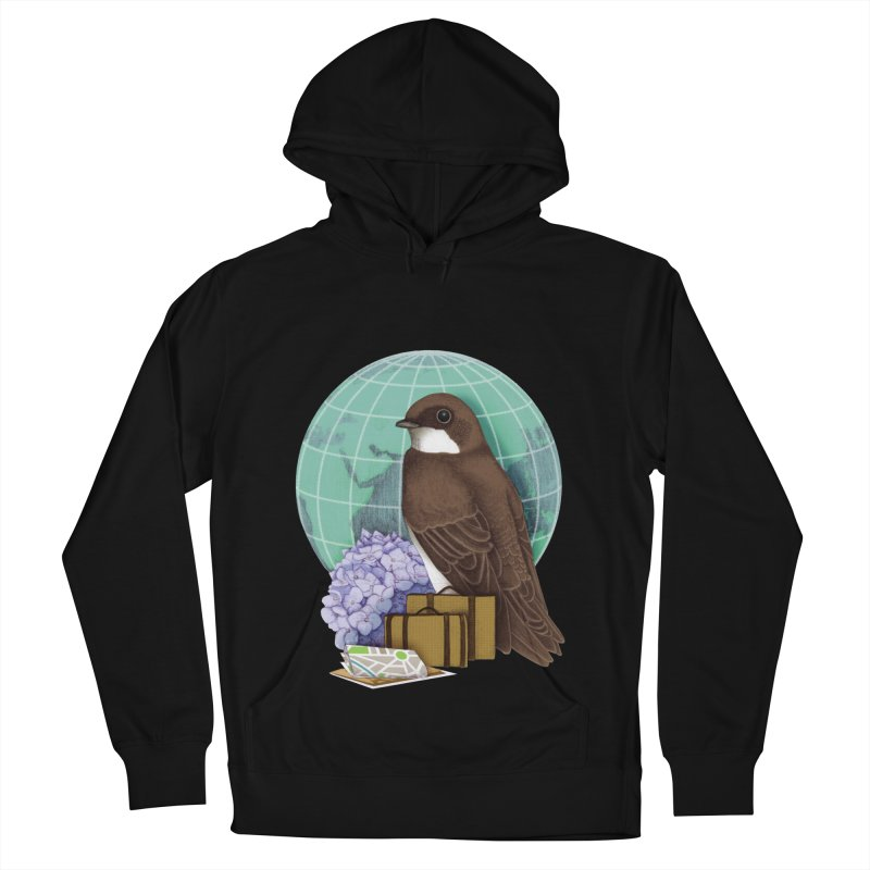 Little World Traveler Women's Pullover Hoody by Kris Efe's Artist Shop
