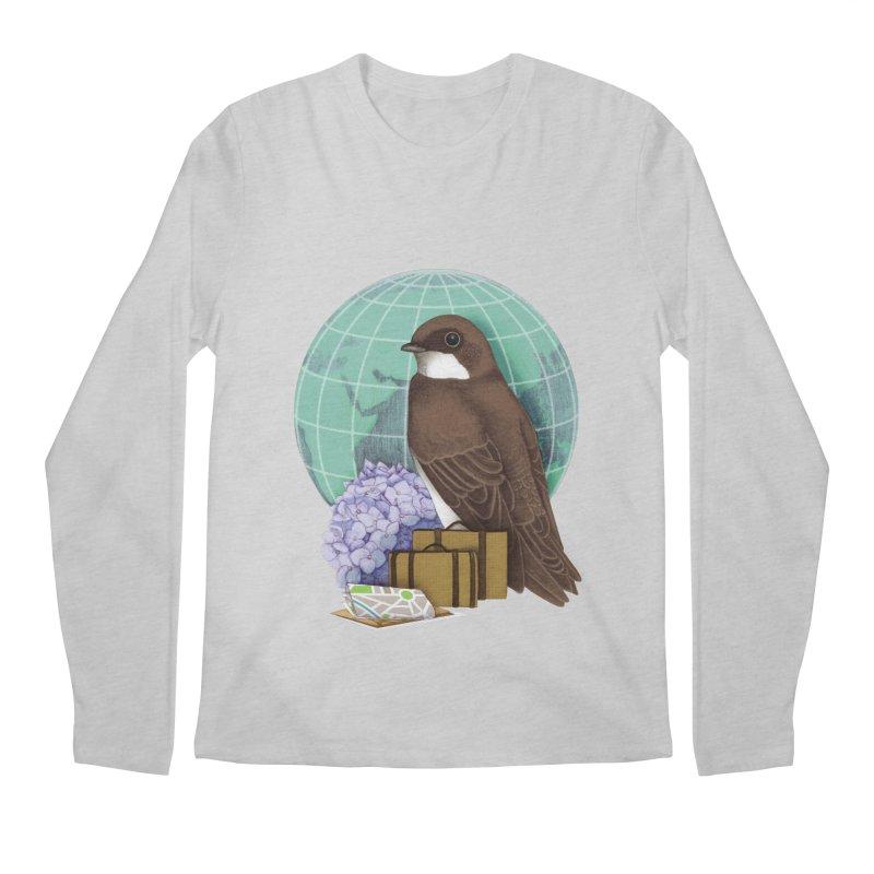 Little World Traveler Men's Longsleeve T-Shirt by Kris Efe's Artist Shop