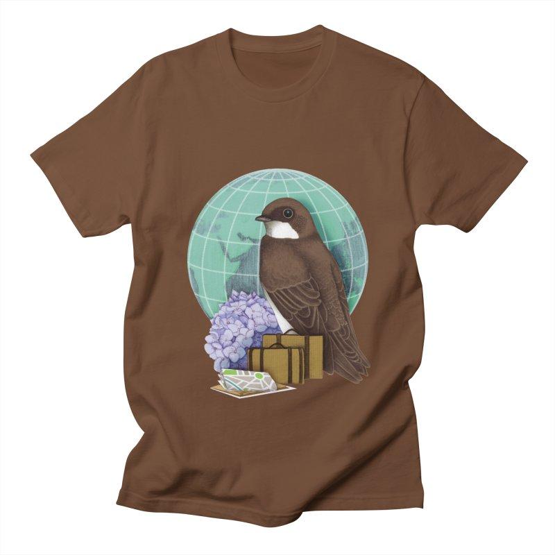 Little World Traveler Men's Regular T-Shirt by Kris Efe's Artist Shop