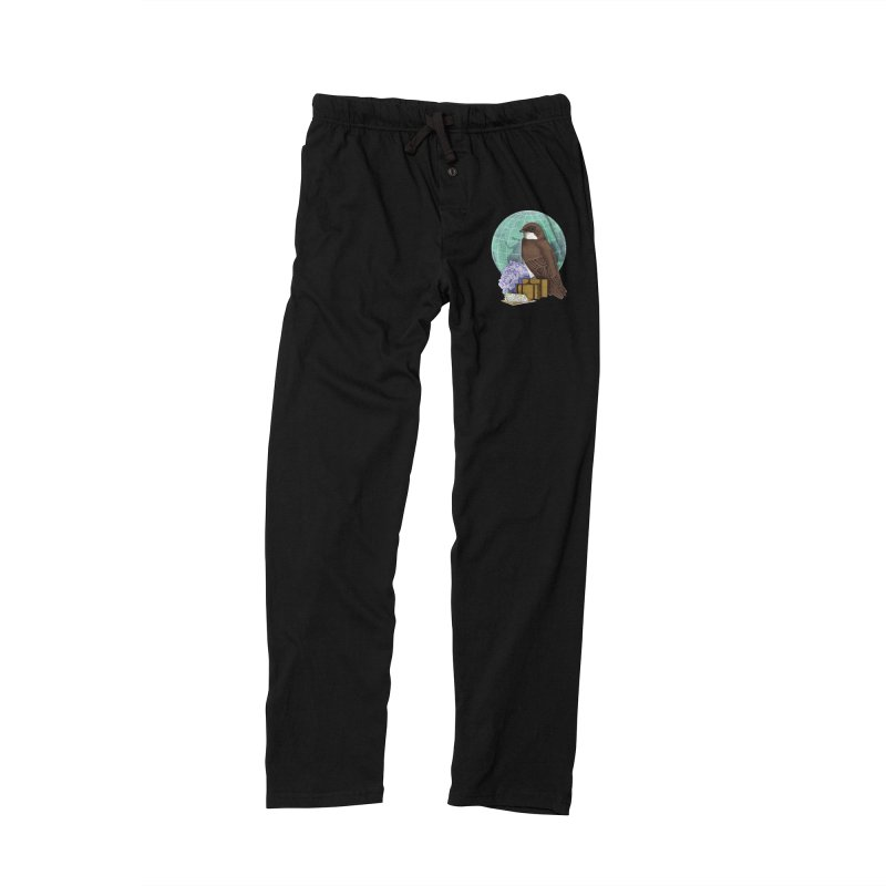 Little World Traveler Men's Lounge Pants by Kris Efe's Artist Shop