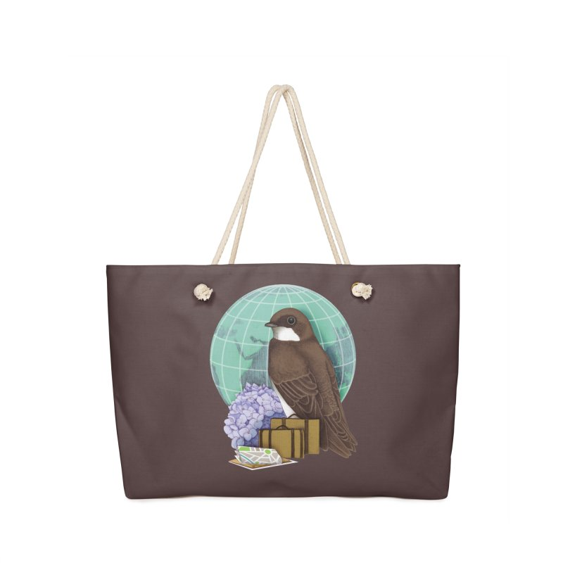 Little World Traveler Accessories Bag by Kris Efe's Artist Shop