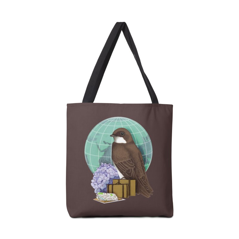 Little World Traveler Accessories Tote Bag Bag by Kris Efe's Artist Shop