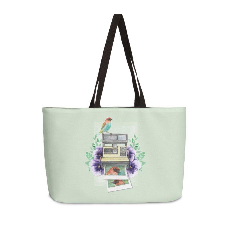 Selfie Accessories Weekender Bag Bag by Kris Efe's Artist Shop