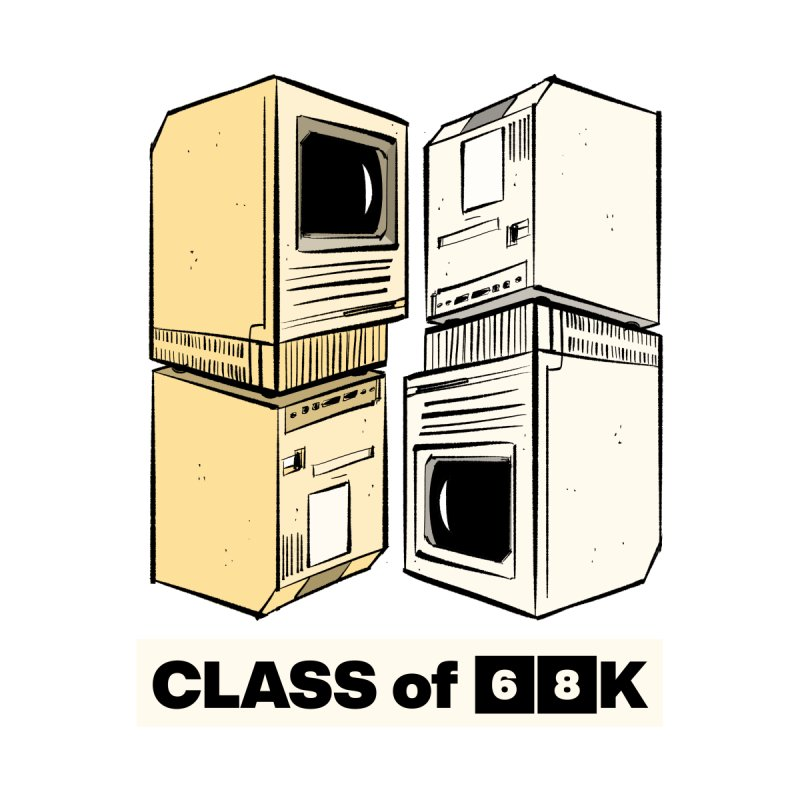 Class of 68K Accessories Sticker by Krishna Designs