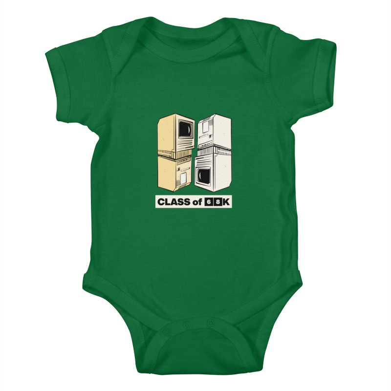 Class of 68K Kids Baby Bodysuit by Krishna Designs