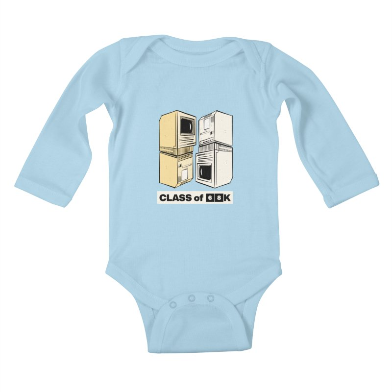 Class of 68K Kids Baby Longsleeve Bodysuit by Krishna Designs