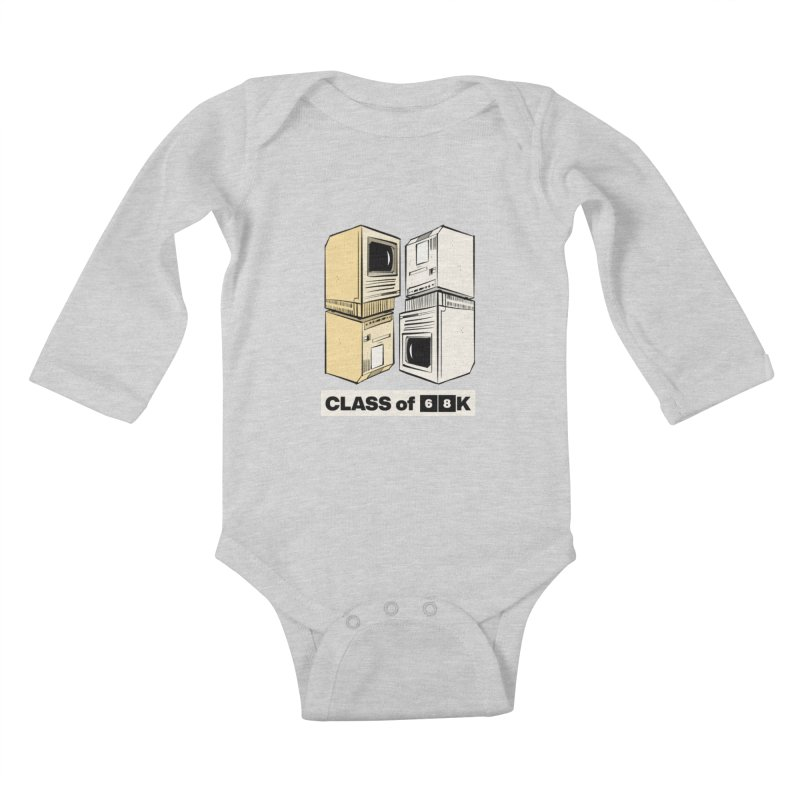Class of 68K Kids Baby Longsleeve Bodysuit by Krishna Designs