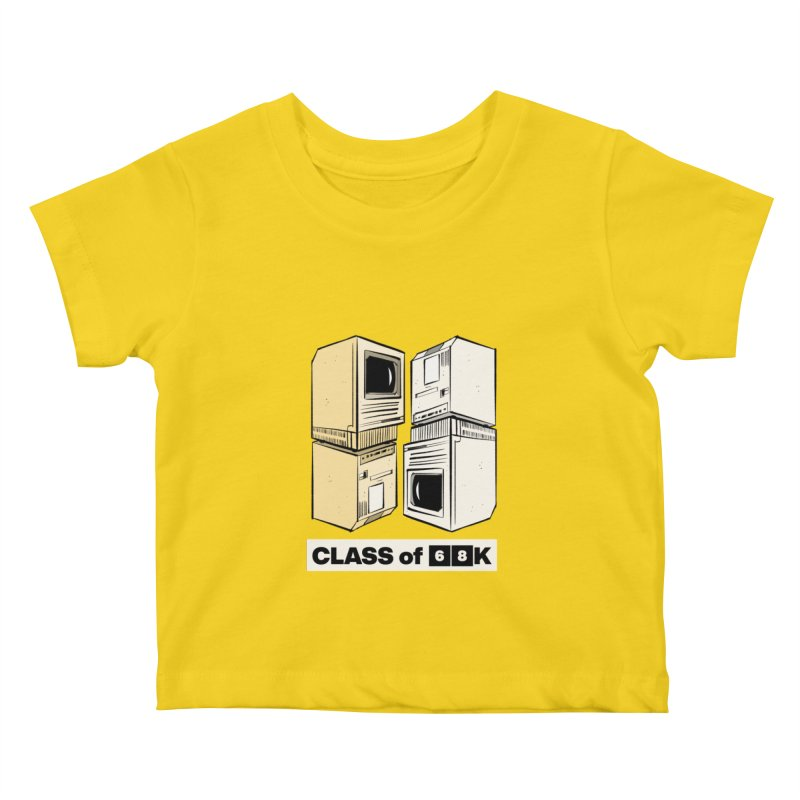 Class of 68K Kids Baby T-Shirt by Krishna Designs