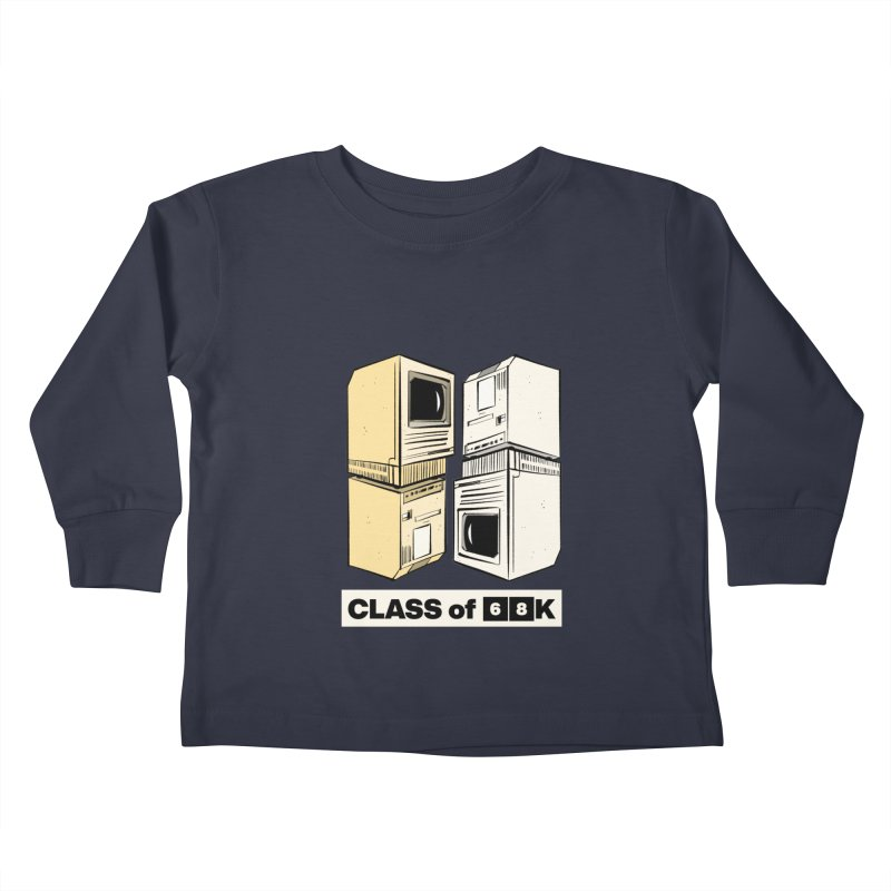Class of 68K Kids Toddler Longsleeve T-Shirt by Krishna Designs