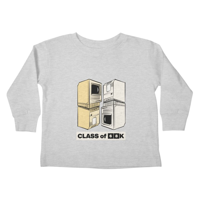 Class of 68K Kids Toddler Longsleeve T-Shirt by Krishna Designs
