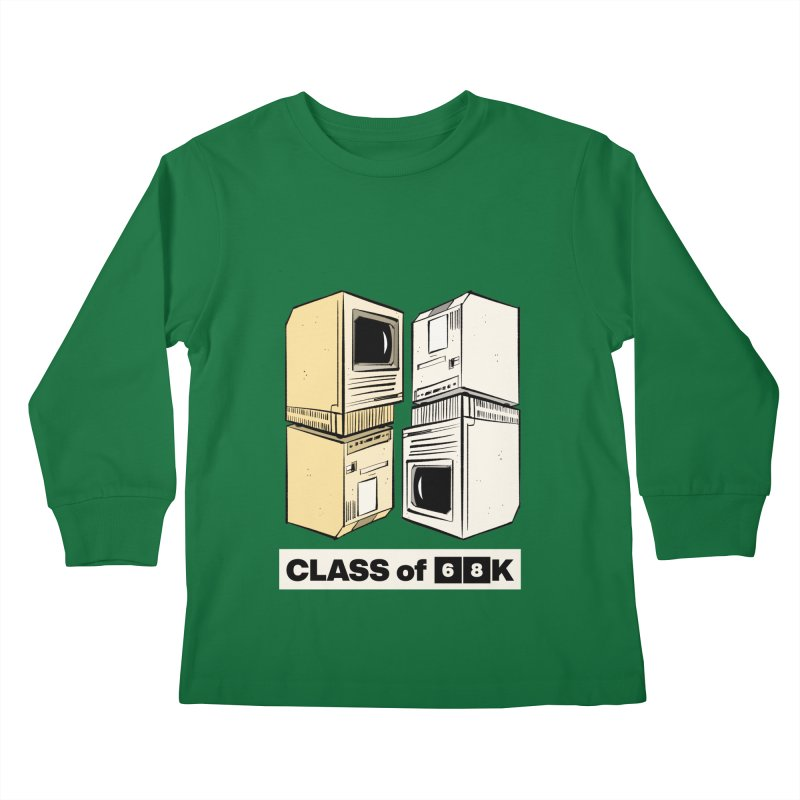 Class of 68K Kids Longsleeve T-Shirt by Krishna Designs
