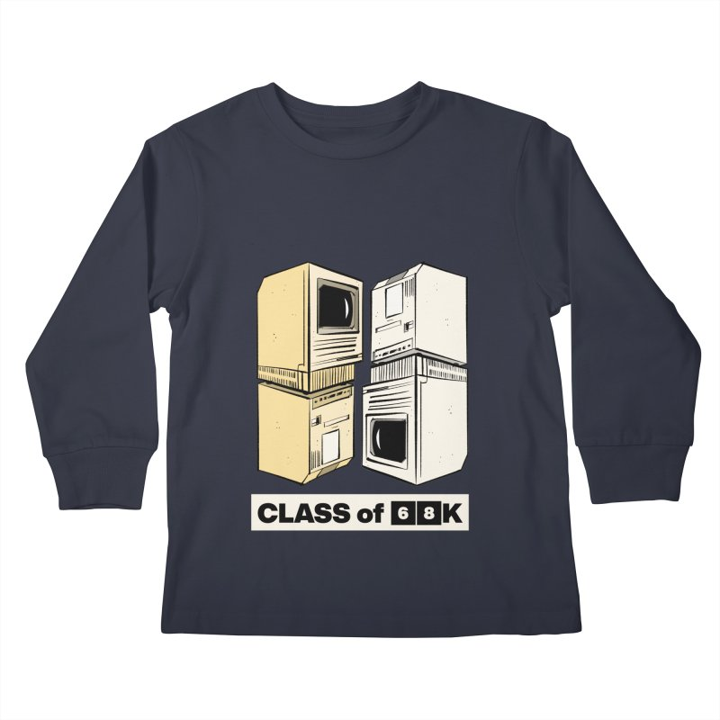 Class of 68K Kids Longsleeve T-Shirt by Krishna Designs