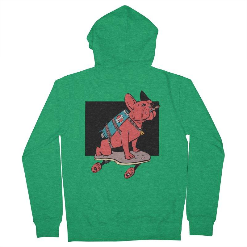 Rocket Dog Men's Zip-Up Hoody by Krishna Designs