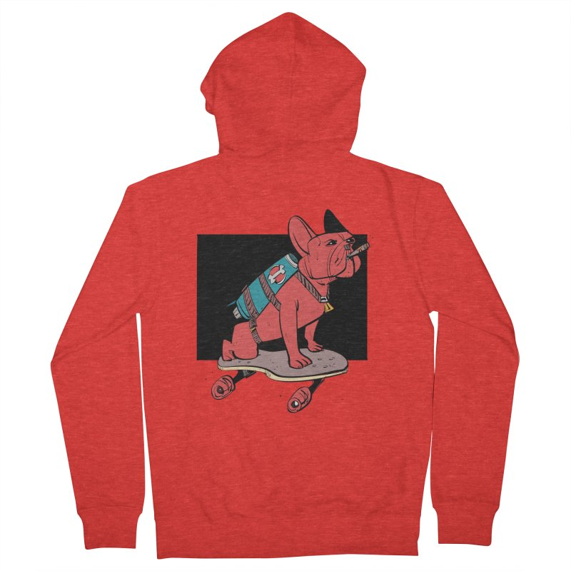 Rocket Dog Men's Zip-Up Hoody by Krishna Designs