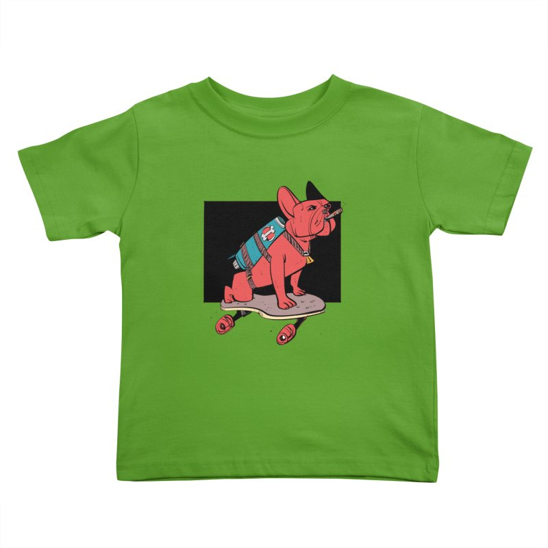 Rocket Dog Kids Toddler T-Shirt by Krishna Designs