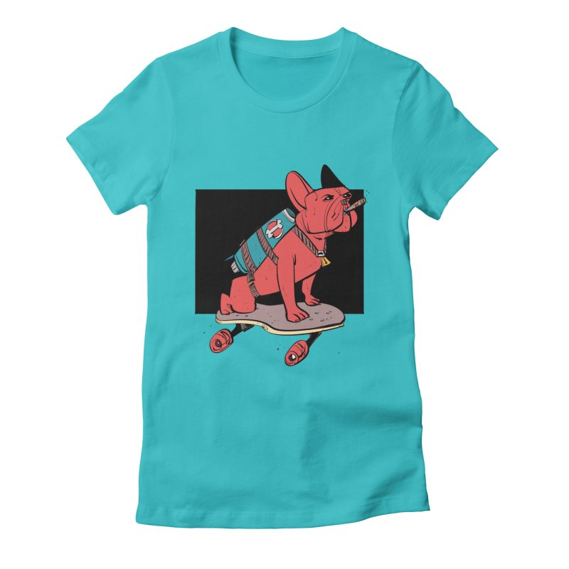 Rocket Dog Women's T-Shirt by Krishna Designs