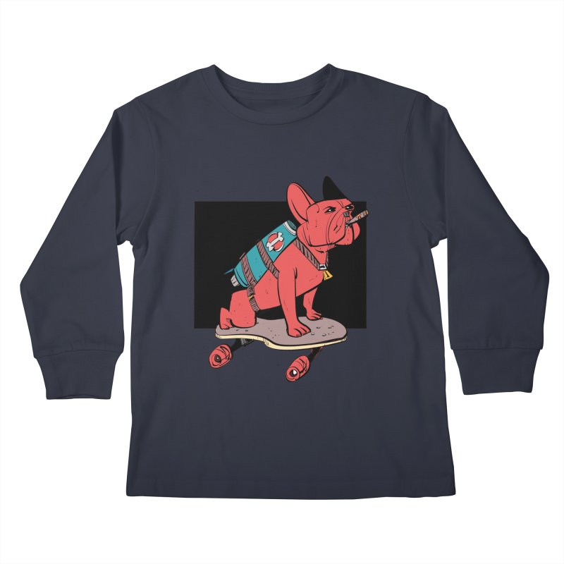 Rocket Dog Kids Longsleeve T-Shirt by Krishna Designs