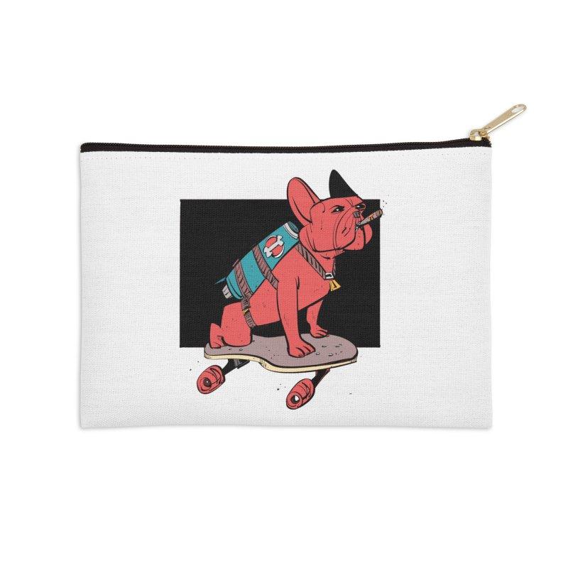 Rocket Dog Accessories Zip Pouch by Krishna Designs