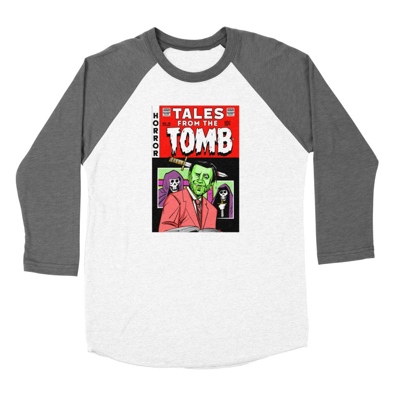 Tales from the Tomb Women's Longsleeve T-Shirt by Krishna Designs