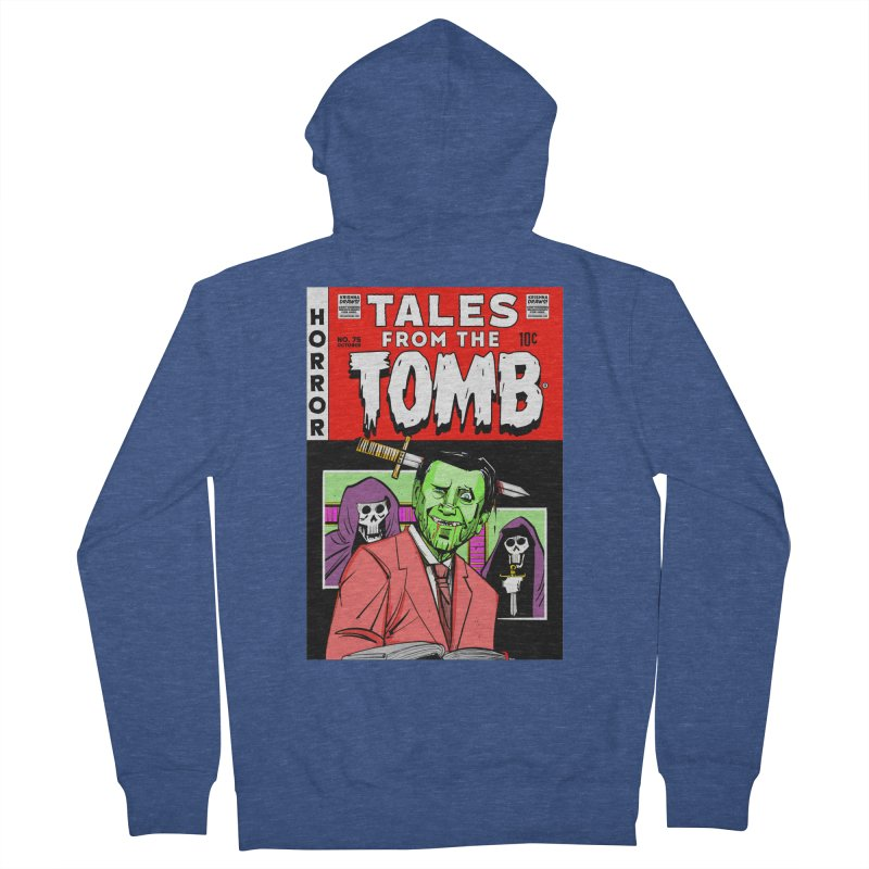 Tales from the Tomb Men's Zip-Up Hoody by Krishna Designs