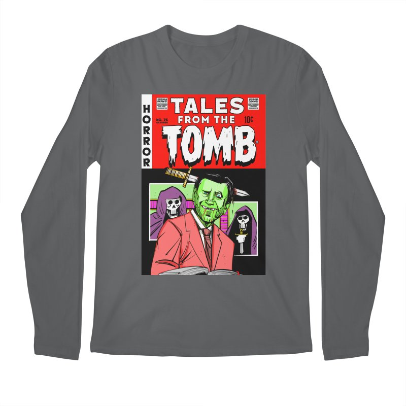 Tales from the Tomb Men's Longsleeve T-Shirt by Krishna Designs