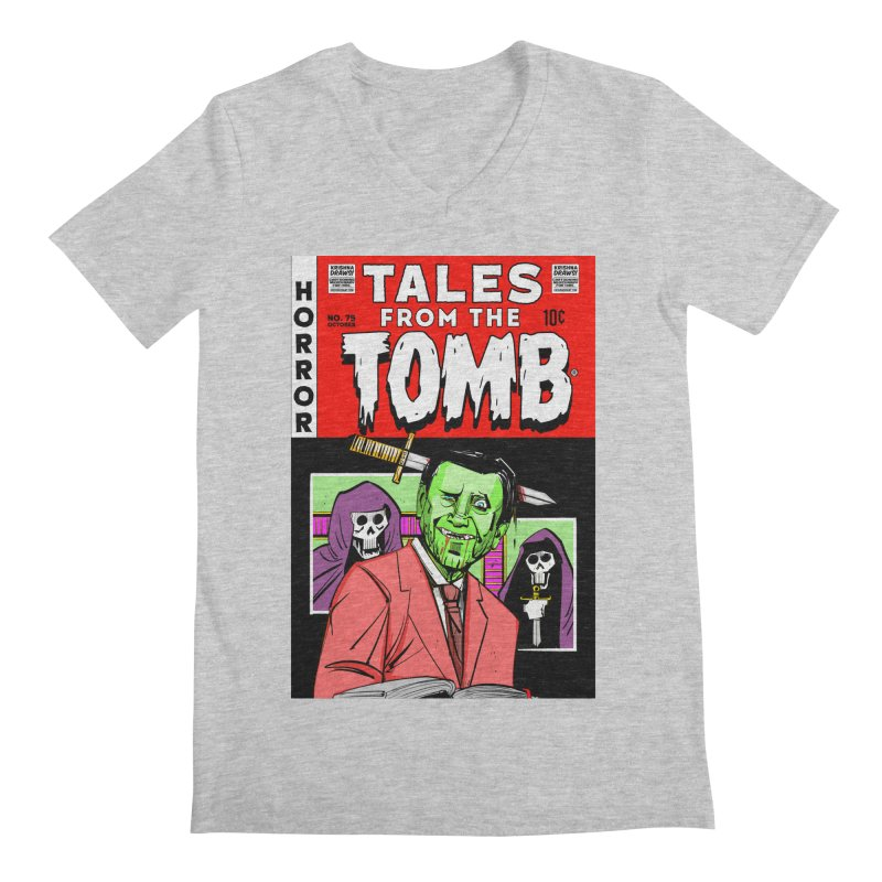 Tales from the Tomb Men's V-Neck by Krishna Designs