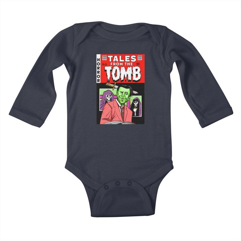 Tales from the Tomb Kids Baby Longsleeve Bodysuit by Krishna Designs