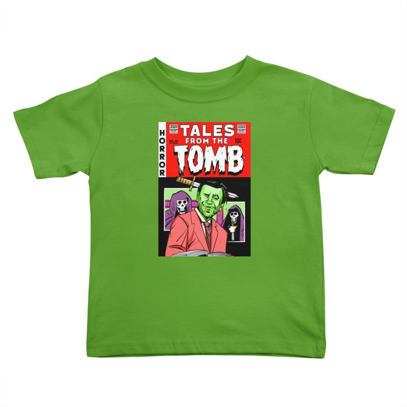 Tales from the Tomb Kids Toddler T-Shirt by Krishna Designs