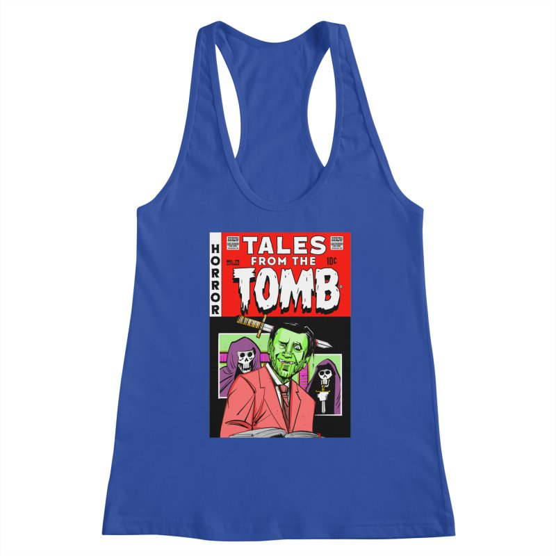 Tales from the Tomb Women's Tank by Krishna Designs