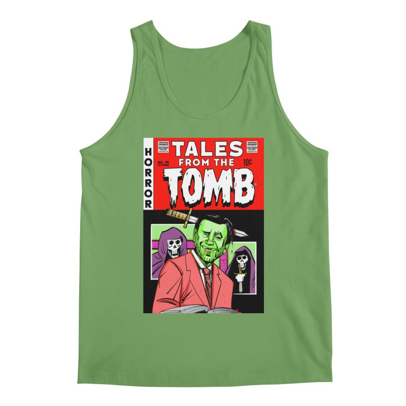 Tales from the Tomb Men's Tank by Krishna Designs