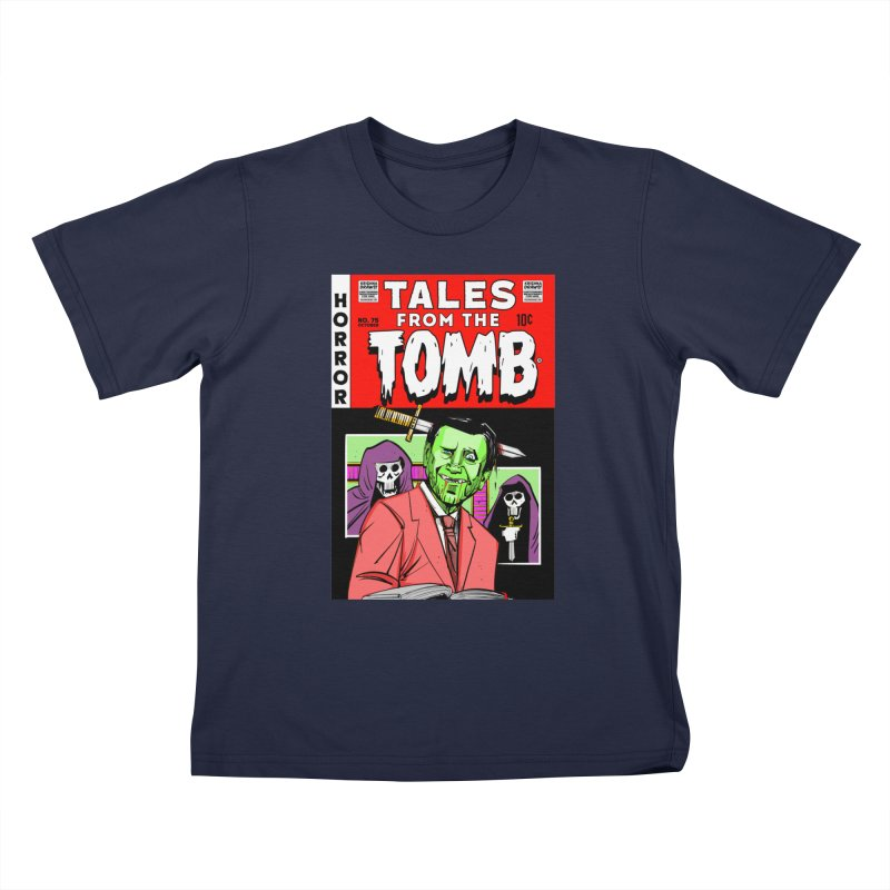 Tales from the Tomb Kids T-Shirt by Krishna Designs