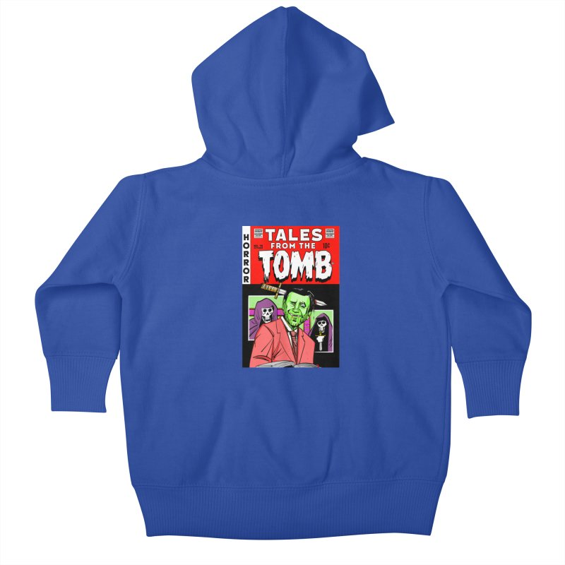 Tales from the Tomb Kids Baby Zip-Up Hoody by Krishna Designs